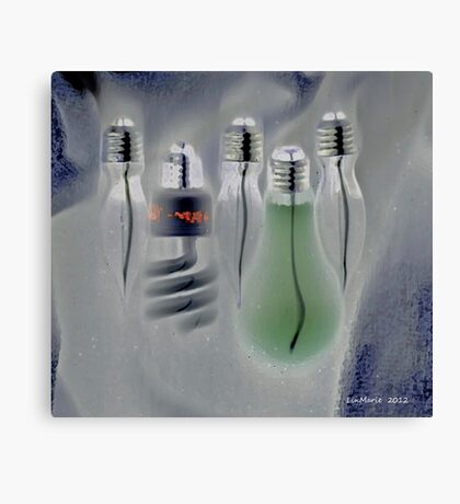 Different Ideas.... Canvas Print