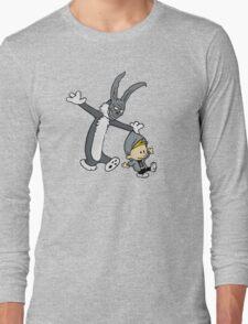 Donnie Darko / Calvin & Hobbes Mash-up Long Sleeve T-Shirt