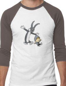 Donnie Darko / Calvin & Hobbes Mash-up Men's Baseball ¾ T-Shirt