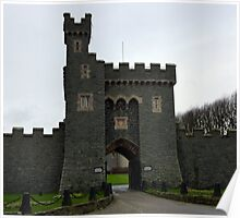 Killyleagh Castle Entrance Poster