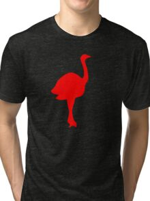 flamingo red Tri-blend T-Shirt