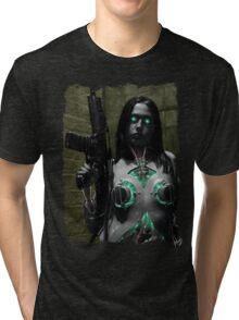 Cyberpunk 003 Tri-blend T-Shirt