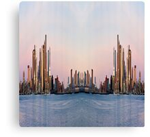 Metro City @ Dawn Canvas Print