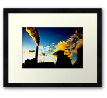 Eggborough Power Station Framed Print