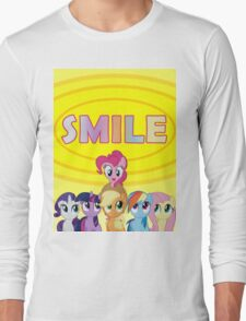 Smile! - Pinkie Pie Long Sleeve T-Shirt