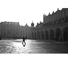 Krakow main square  Photographic Print