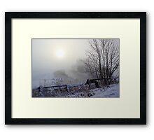 Hidding the Dawn Framed Print