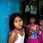 Three girls, Thailand by Rick  Senley