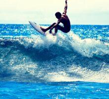 Surfer Tricks Sticker