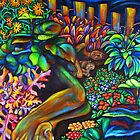 Sleeping in the Garden by Erika  Hastings