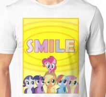 Smile! - Pinkie Pie (Bordered) Unisex T-Shirt