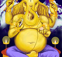 Ganesha, Lord of Beginnings by Ganeshalove