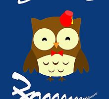 Doctor Hoo Owl Shirt by ArtGhost