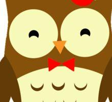 Doctor Hoo Owl Shirt Sticker