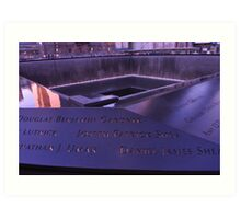 9/11 Memorial - New York City Art Print