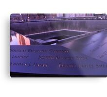 9/11 Memorial - New York City Metal Print