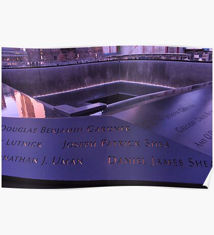 9/11 Memorial - New York City Poster