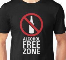 Alcohol Free Zone - Dark Unisex T-Shirt