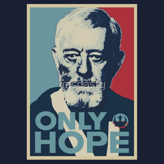 TShirtGifter presents: Obi Wan the Only Hope