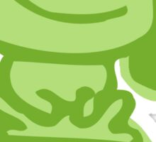 live green Sticker