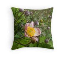 Small Wildflower Throw Pillow