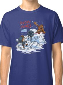 Calvin And Hobbes snow wars Classic T-Shirt