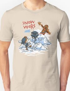Calvin And Hobbes snow wars Unisex T-Shirt