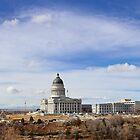 Capitol Hill - Salt Lake City, Utah by Brian D. Campbell