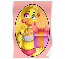 Christmas Toy Chica Poster