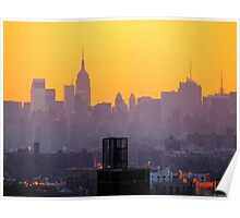 New York City hues  Poster