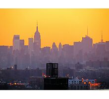 New York City hues  Photographic Print