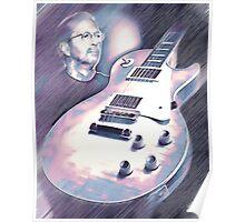 Les Paul & Eric Clapton Poster