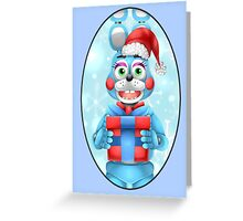 Christmas Toy Bonnie  Greeting Card