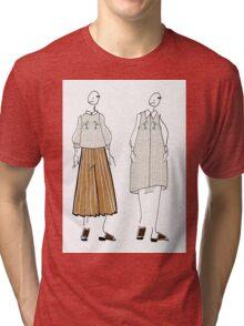 Twin silhouettes Tri-blend T-Shirt