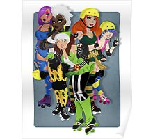 The Uncanny Derby Girls Poster