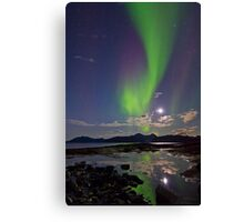 Aurora Reflection II Canvas Print