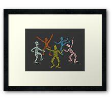 Dance fever Framed Print