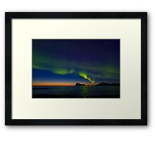 Auroras in April Framed Print