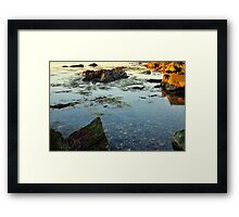 Morning Tidal Shoals  Framed Print