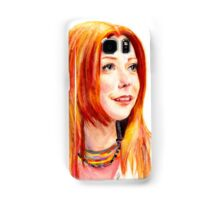 Willow Coloured Pencil Drawing Samsung Galaxy Case/Skin