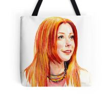 Willow Coloured Pencil Drawing Tote Bag