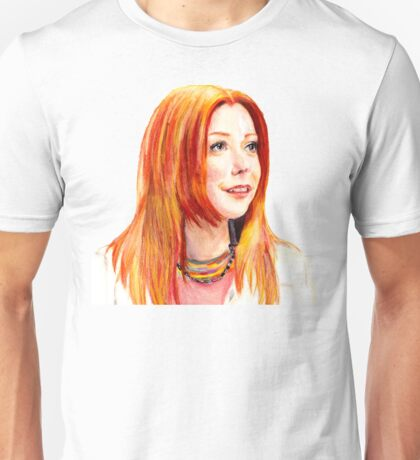 Willow Coloured Pencil Drawing Unisex T-Shirt