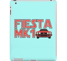 Retro Classic Car Mk1 Fiesta Men's T-shirt iPad Case/Skin