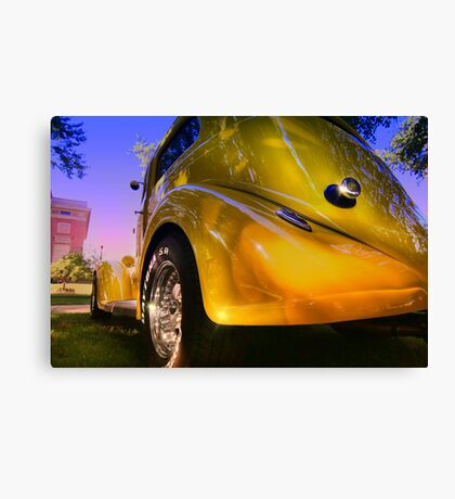 """"""" A Yellow Rose """" Canvas Print"""
