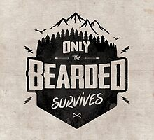 ONLY THE BEARDED SURVIVES by snevi