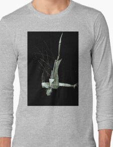 Let's Draw Sherlock The Reichenbach Fall Long Sleeve T-Shirt