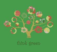 tree of life - think green Kids Clothes