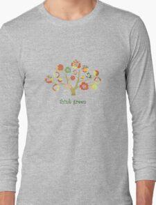 tree of life - think green Long Sleeve T-Shirt