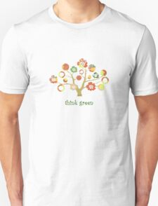 tree of life - think green Unisex T-Shirt