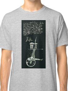 Let's Draw Sherlock The Reichenbach Fall Classic T-Shirt